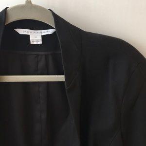 Diane von Frurstenberg fitted blazer